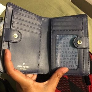 kate spade Bags - Navy Blue Kate Spade Wallet